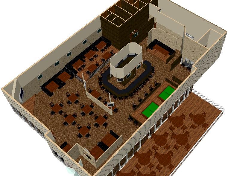 The Final Version Of The Floor Plan Is Shown Below:
